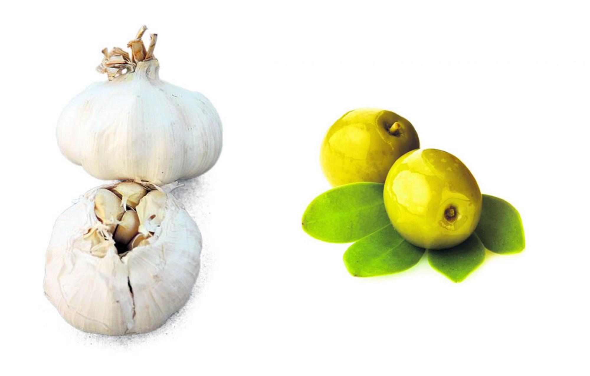 Unentdeckte Qualitäten von Knoblauch und Olive