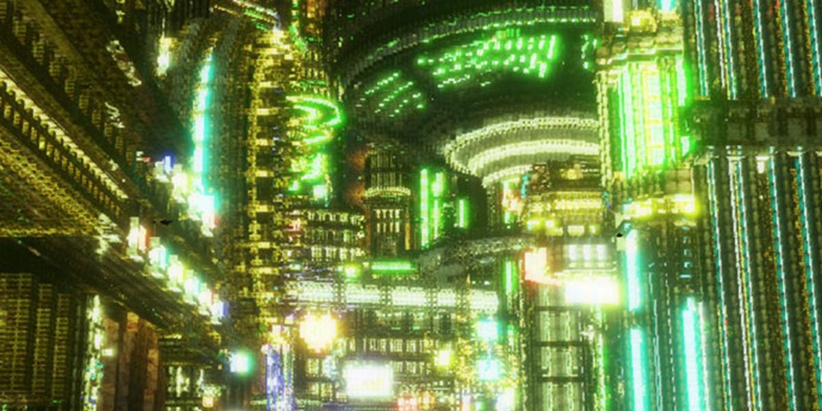 """16 Stunden täglich, zwei Jahre lang: Chinese baut riesige Cyberpunk-Stadt in """"Minecraft"""""""