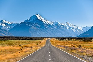 Mount Cook in Neuseeland.