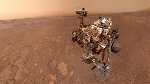Marsoberfläche Curiosity