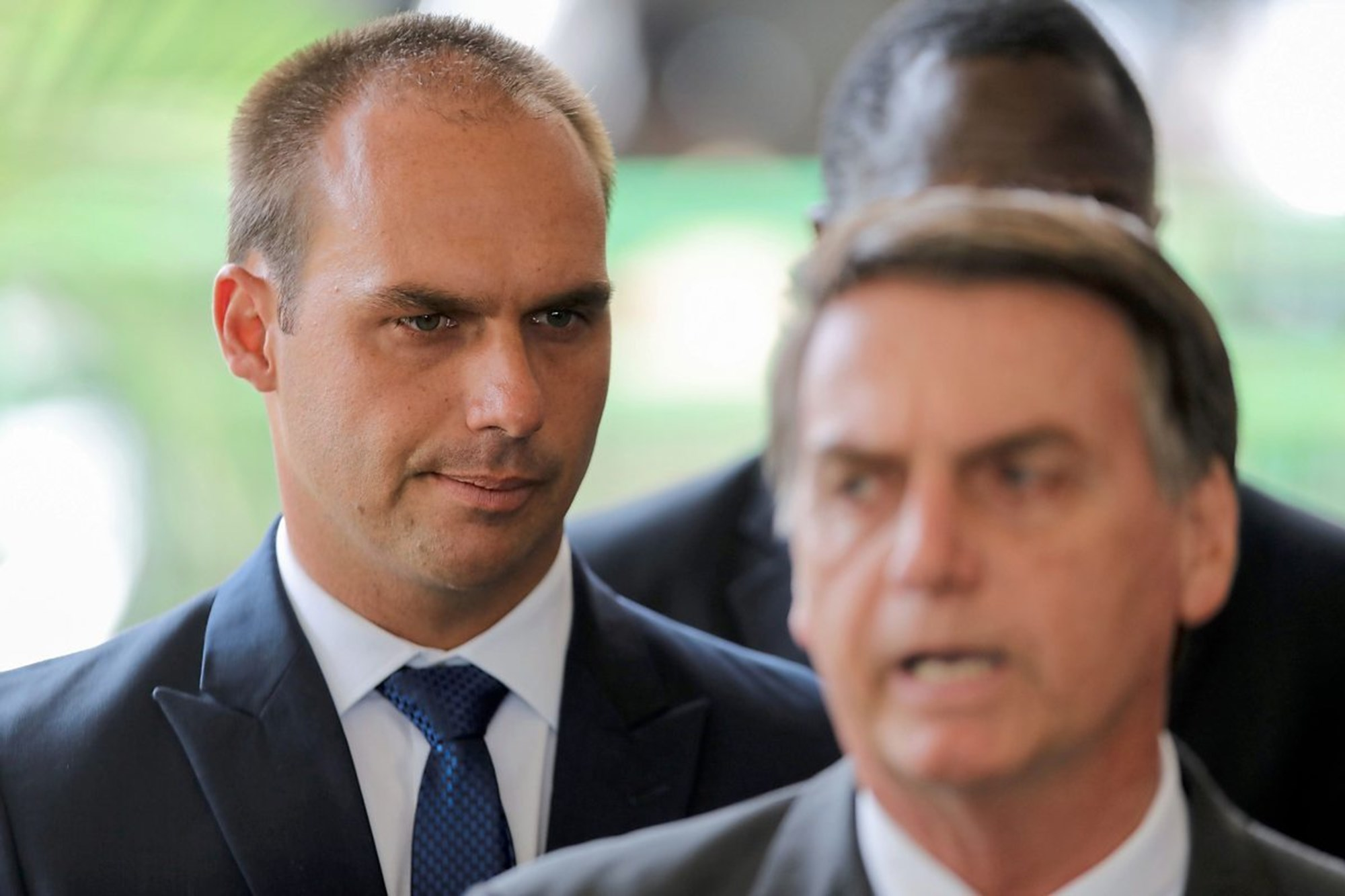 Sohn von Bolsonaro schließt sich Bannons ultrarechter Bewegung an