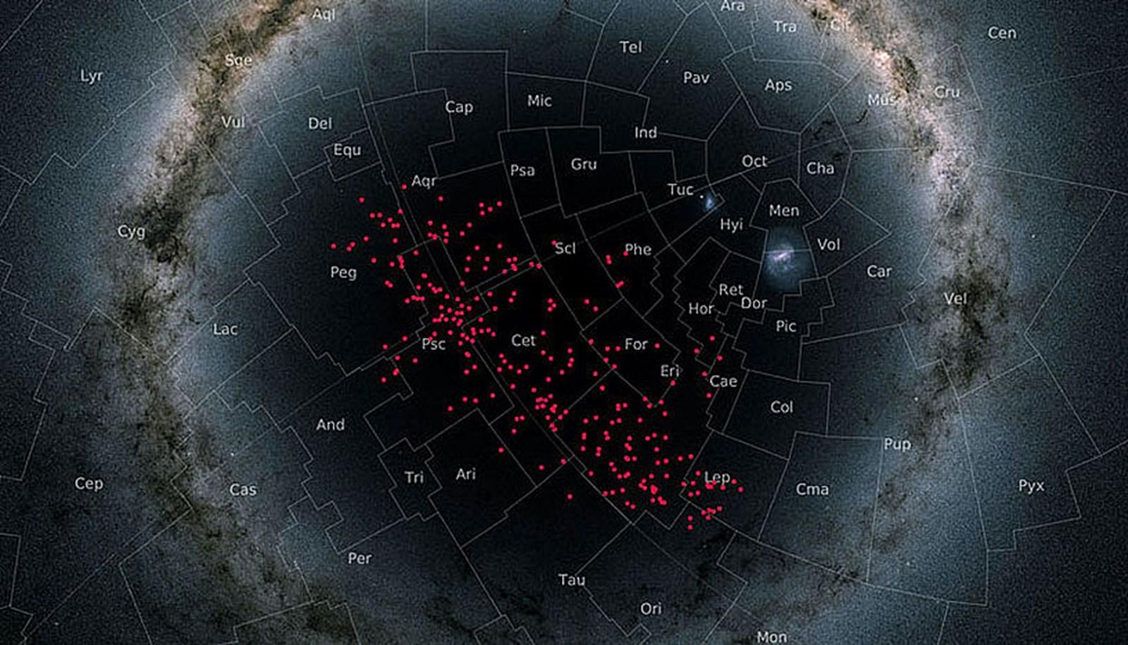 Riesiger Sternenstrom in der kosmischen Nachbarschaft entdeckt