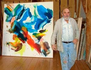 Vom Ding zum Klecks: Maler Wolfgang Hollegha ist 90
