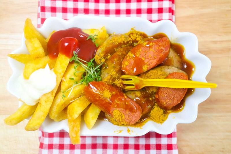 Rezept Vegetarische Currywurst Essen Trinken Derstandardde