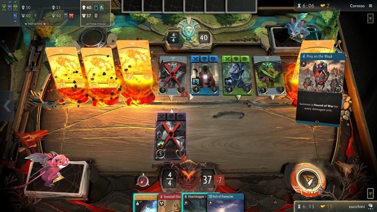 Halbes Kartenspiel