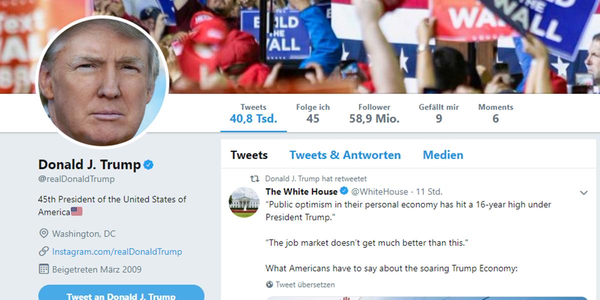 Trump Tweet Türkei