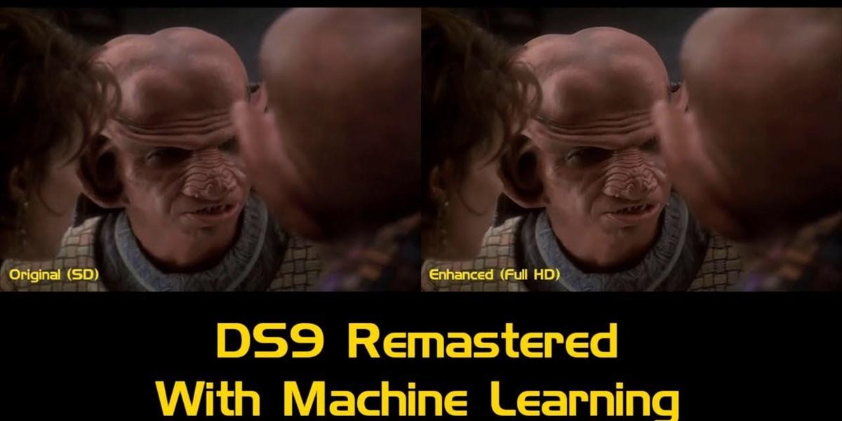 """Fan erschafft mit KI HD-Remake von """"Star Trek: Deep Space Nine"""""""