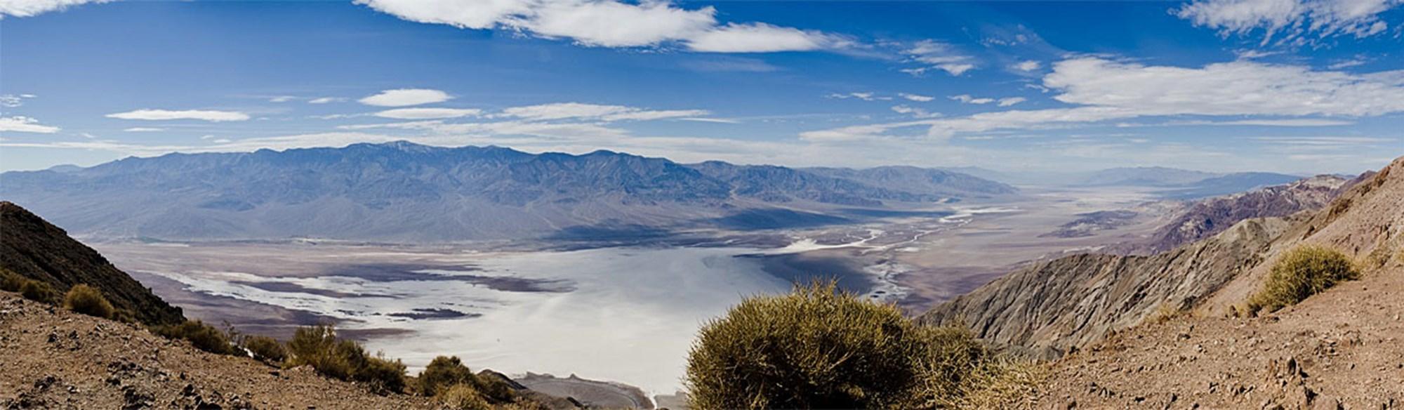 Im Death Valley erschien plötzlich ein großer See – oder etwas Ähnliches