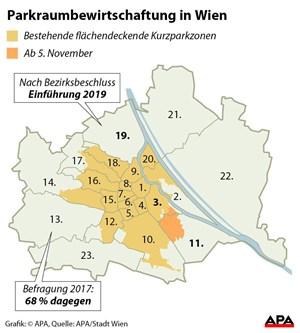 Rekord Bei Parkgebühren Aber Weniger Einkünfte Aus Strafen In Wien