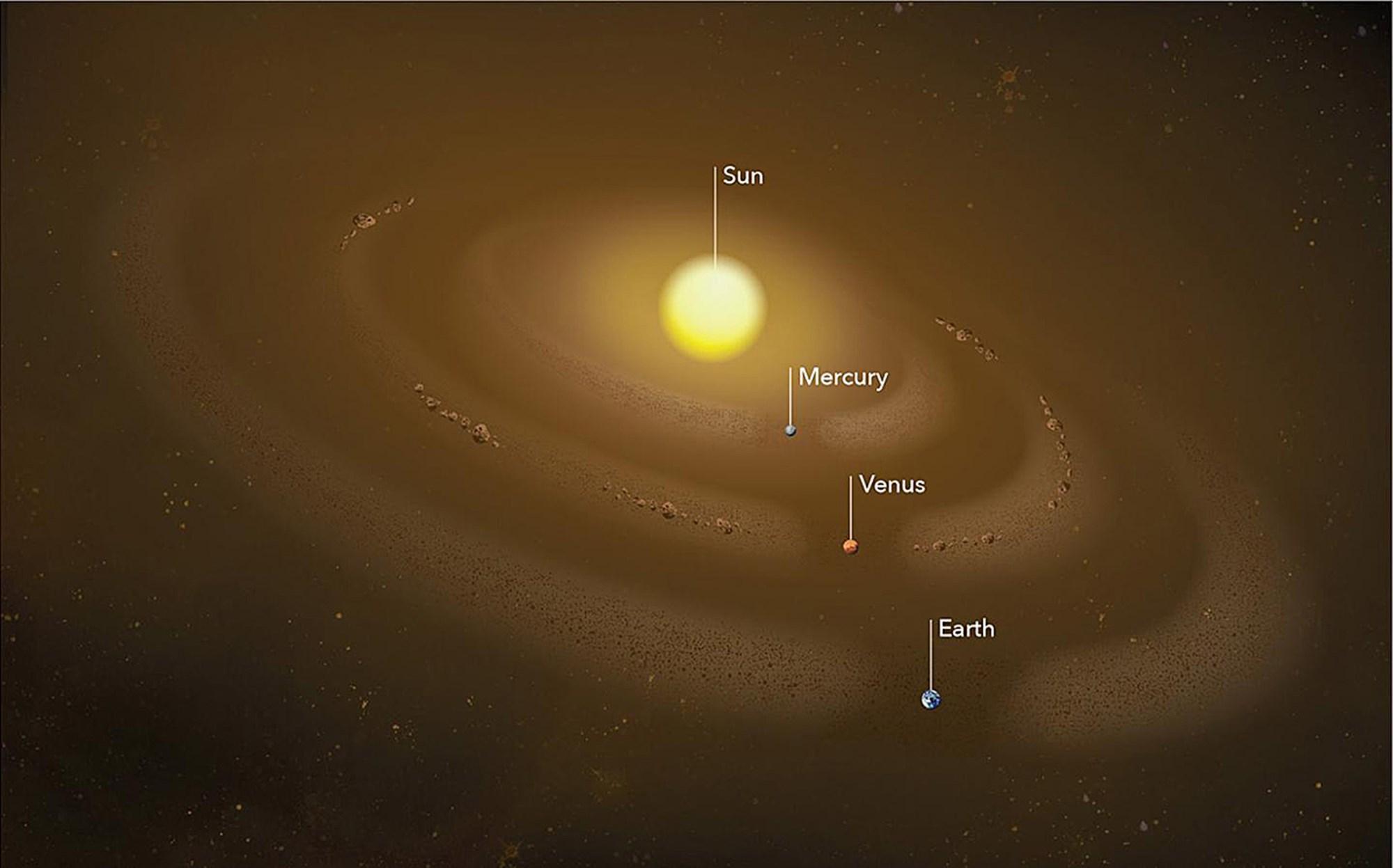 Riesige Staubringe um die Sonne entdeckt – derStandard.at