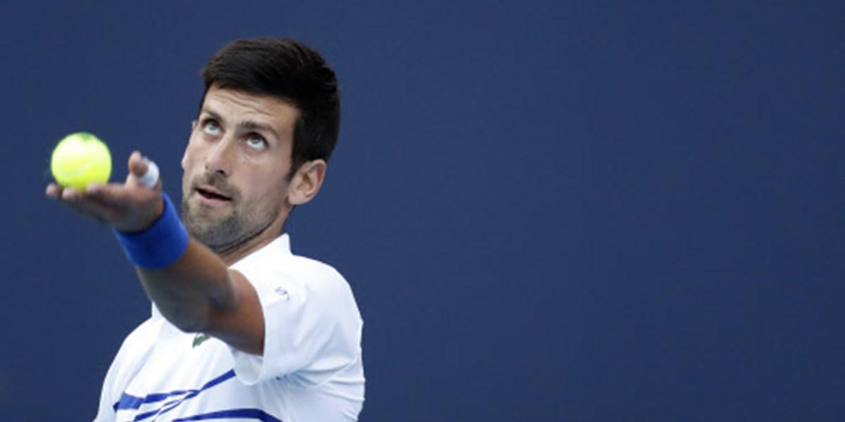 Djokovic im Miami-Achtelfinale, Vorjahressiegerin Stephens out