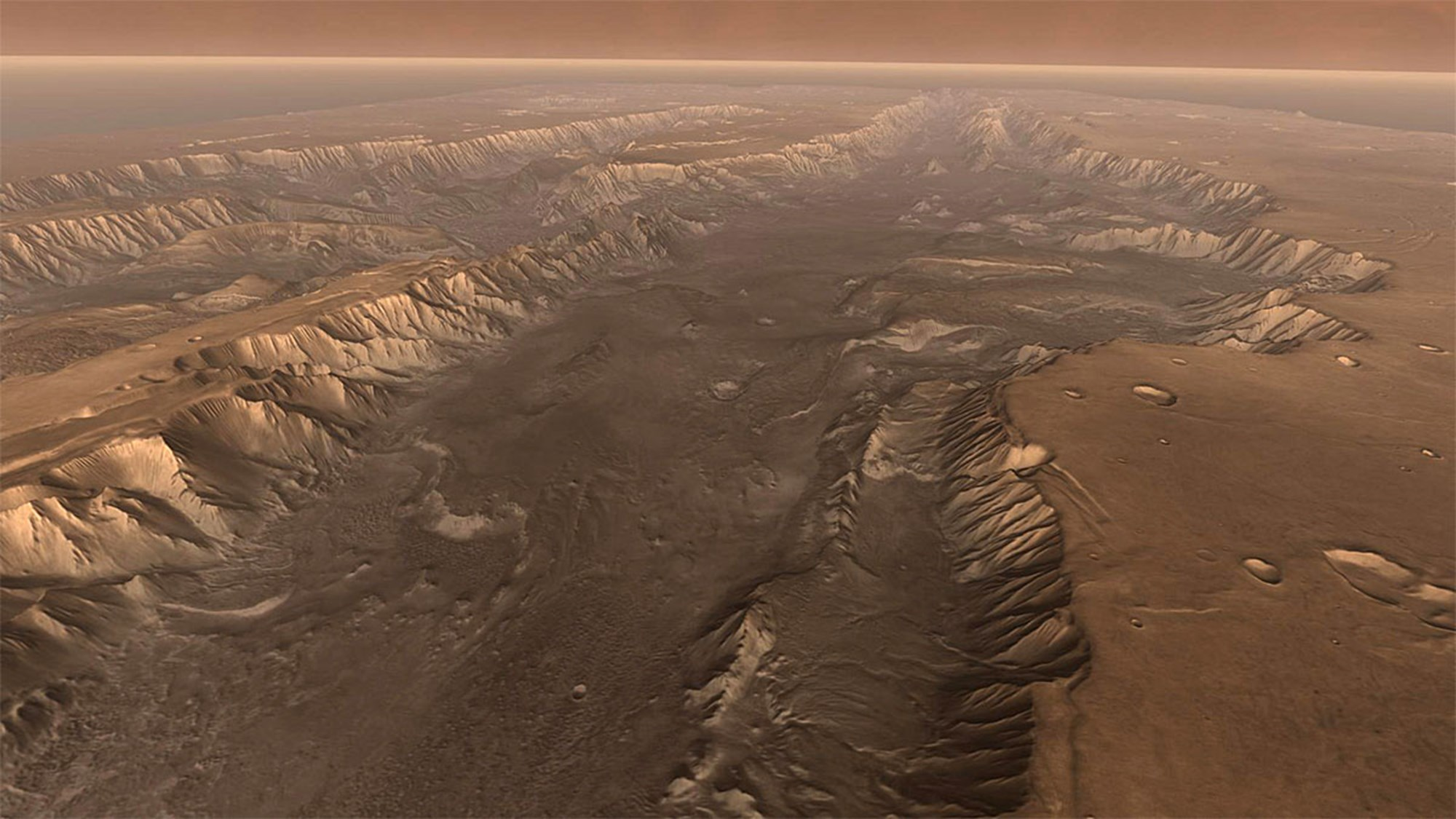 Gewaltige Flüsse auf dem Mars – derStandard.at
