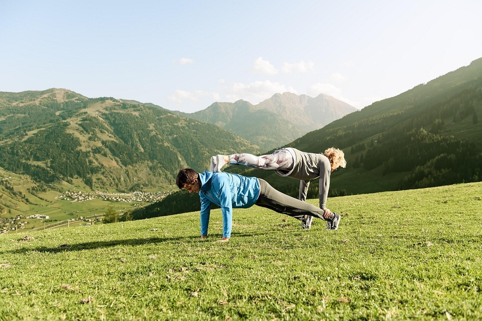 Zum Yoga nach Gastein