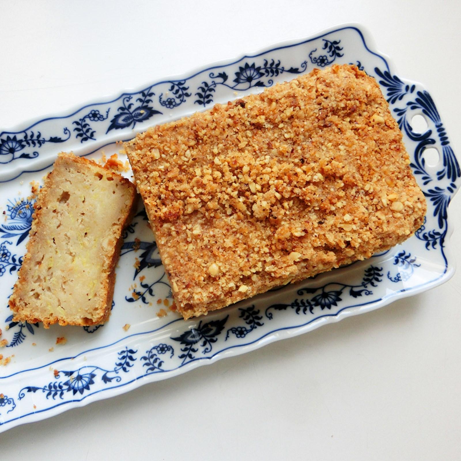 Rezept für Rhabarberkuchen mit Streusel