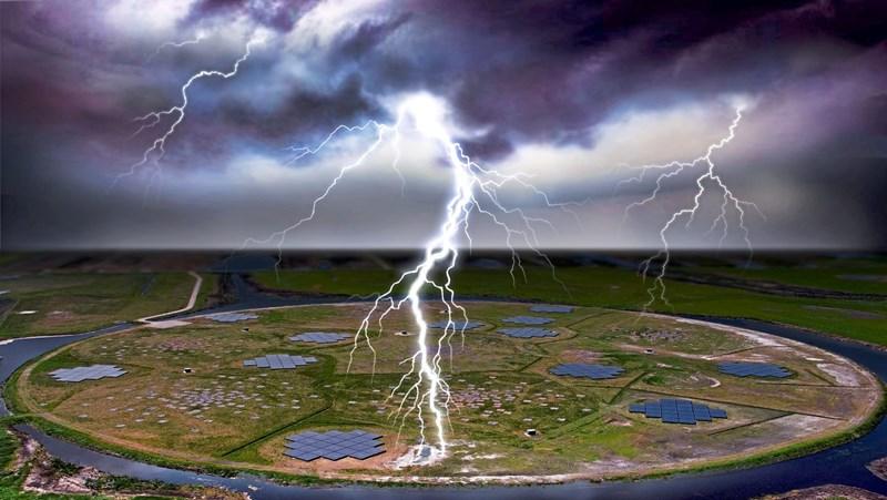 Genaueste Messung eines Blitzes enthüllt überraschende Strukturen