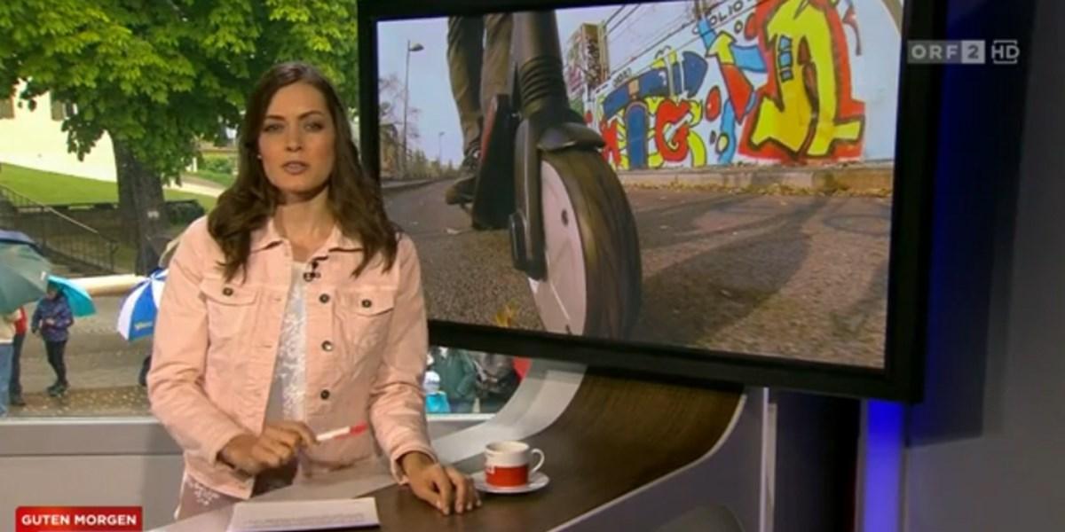 E Scooter In Guten Morgen österreich Keine Helmpflicht