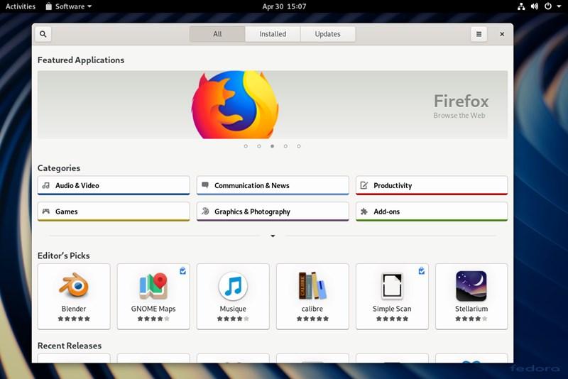 Fedora 30: Neue Version bringt signifikante Verbesserungen - Linux