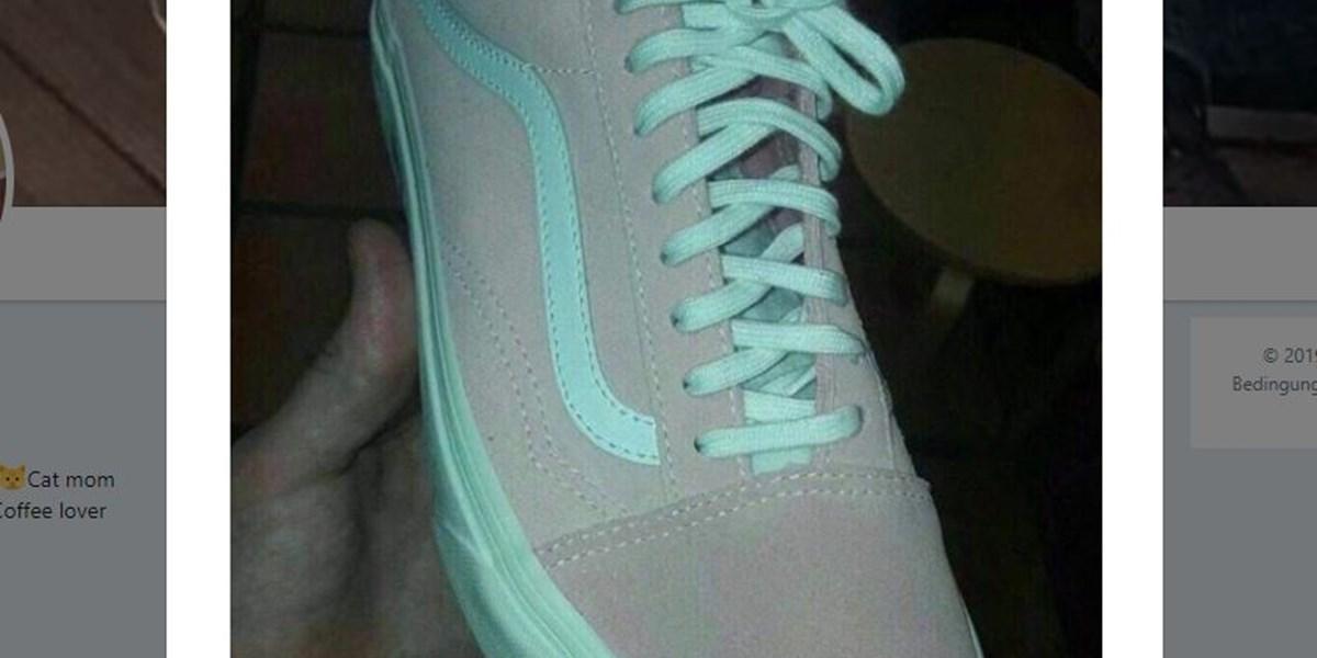 Pink weiß oder türkis grau? Farben von Schuhen spalten das