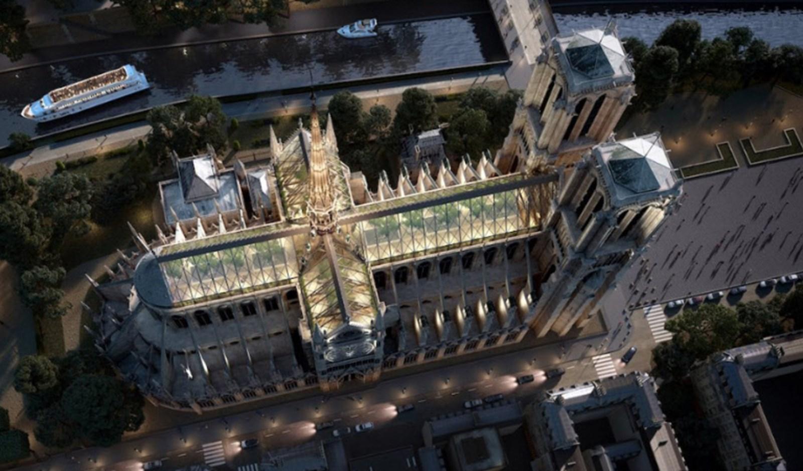 Die neue Notre-Dame als Macrons mögliches Erbe