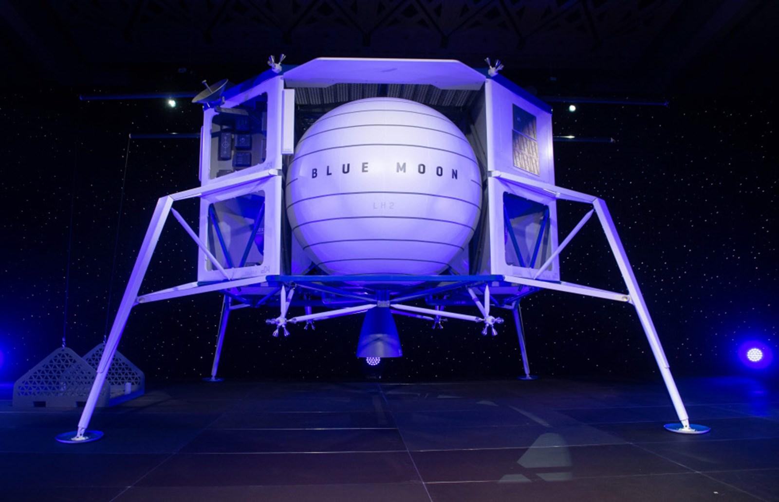 Neuer Mondlander Blue Moon vorgestellt