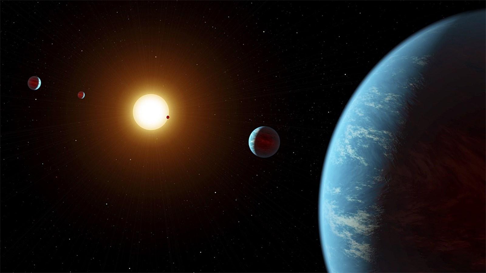 Riesige Wasserwelten sind in der Galaxis womöglich häufiger als gedacht