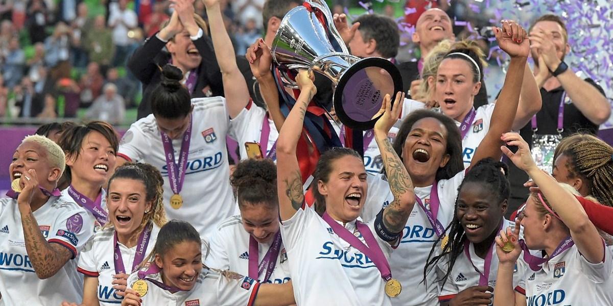 Lyons Frauen gewinnen erneut Champions-League