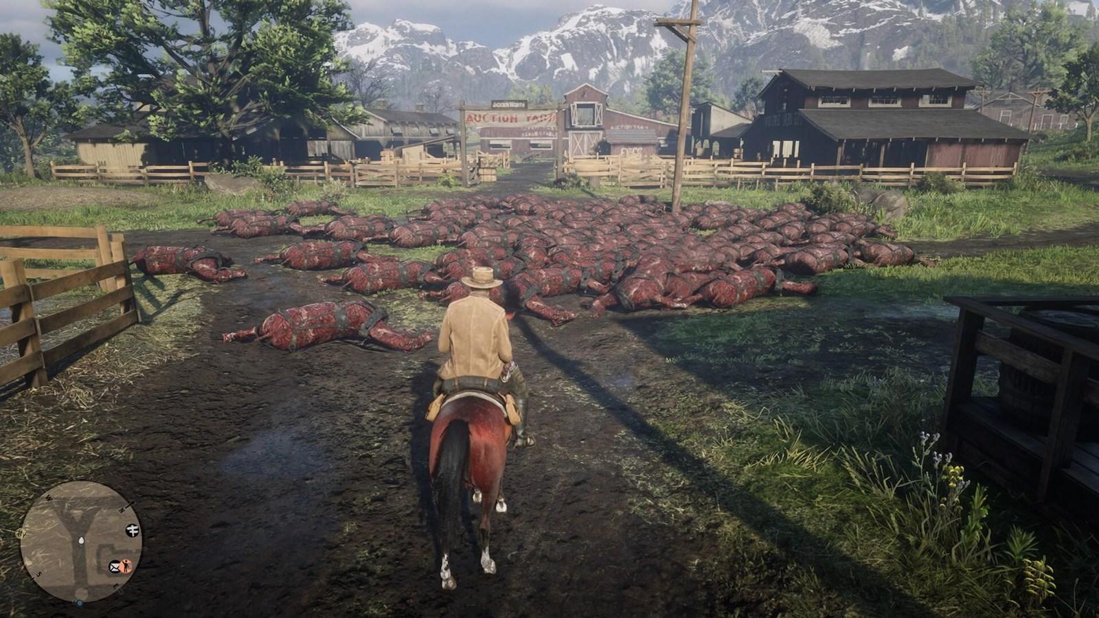 """Pferde-Massengräber beschäftigen """"Red Dead Online""""-Spieler"""
