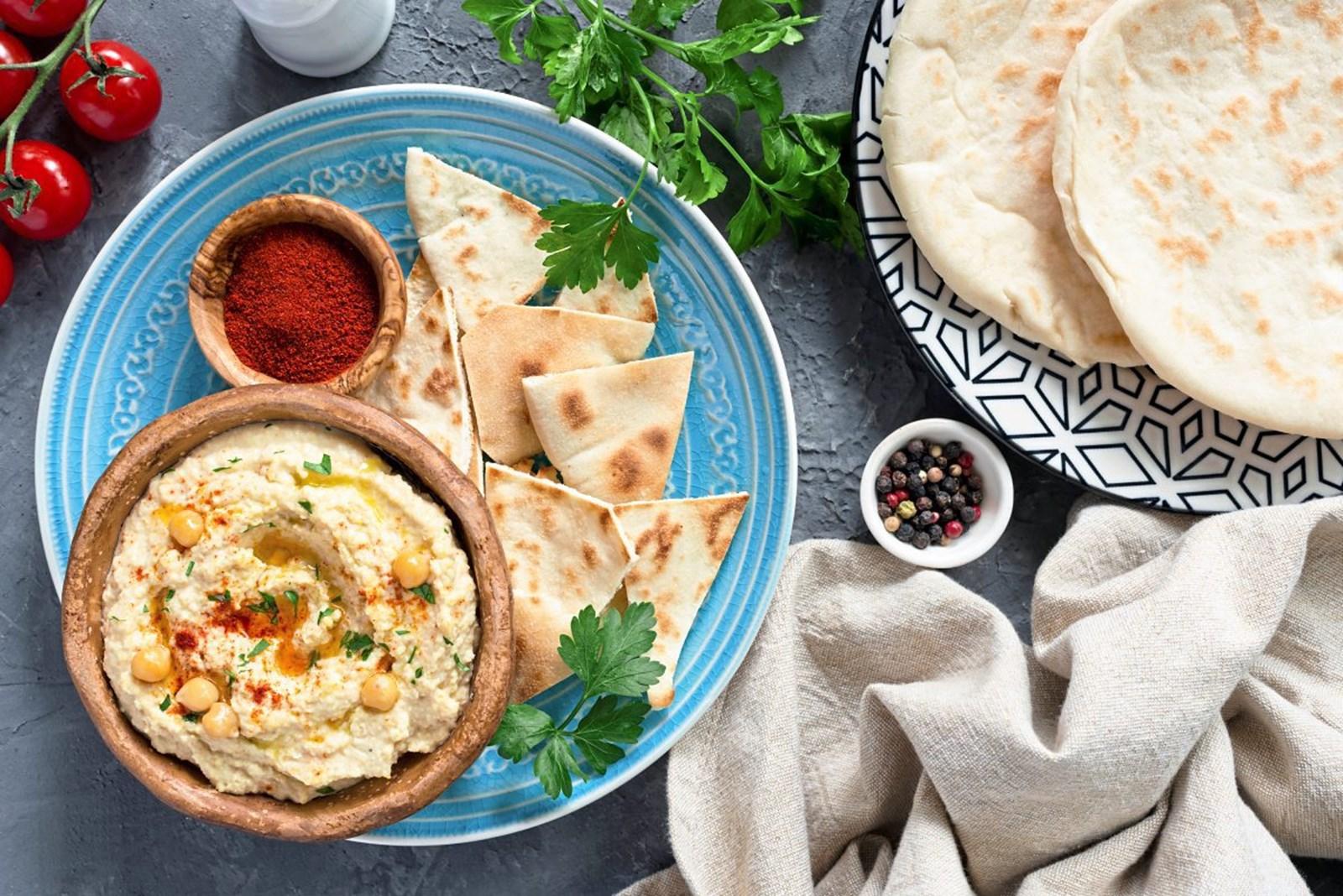 Hummus enthält oft Zusatzstoffe