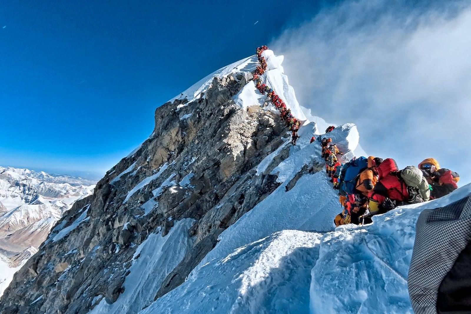 Drei Tote durch Stau am Everest