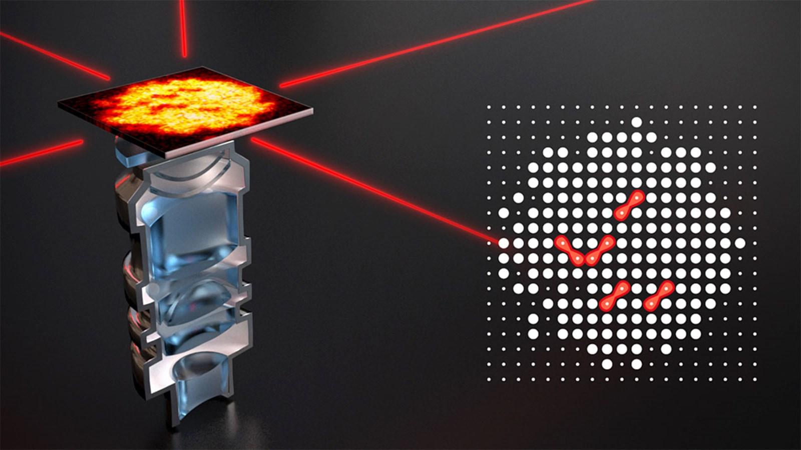 Direkte optische Abbildung von Riesenmolekülen gelungen