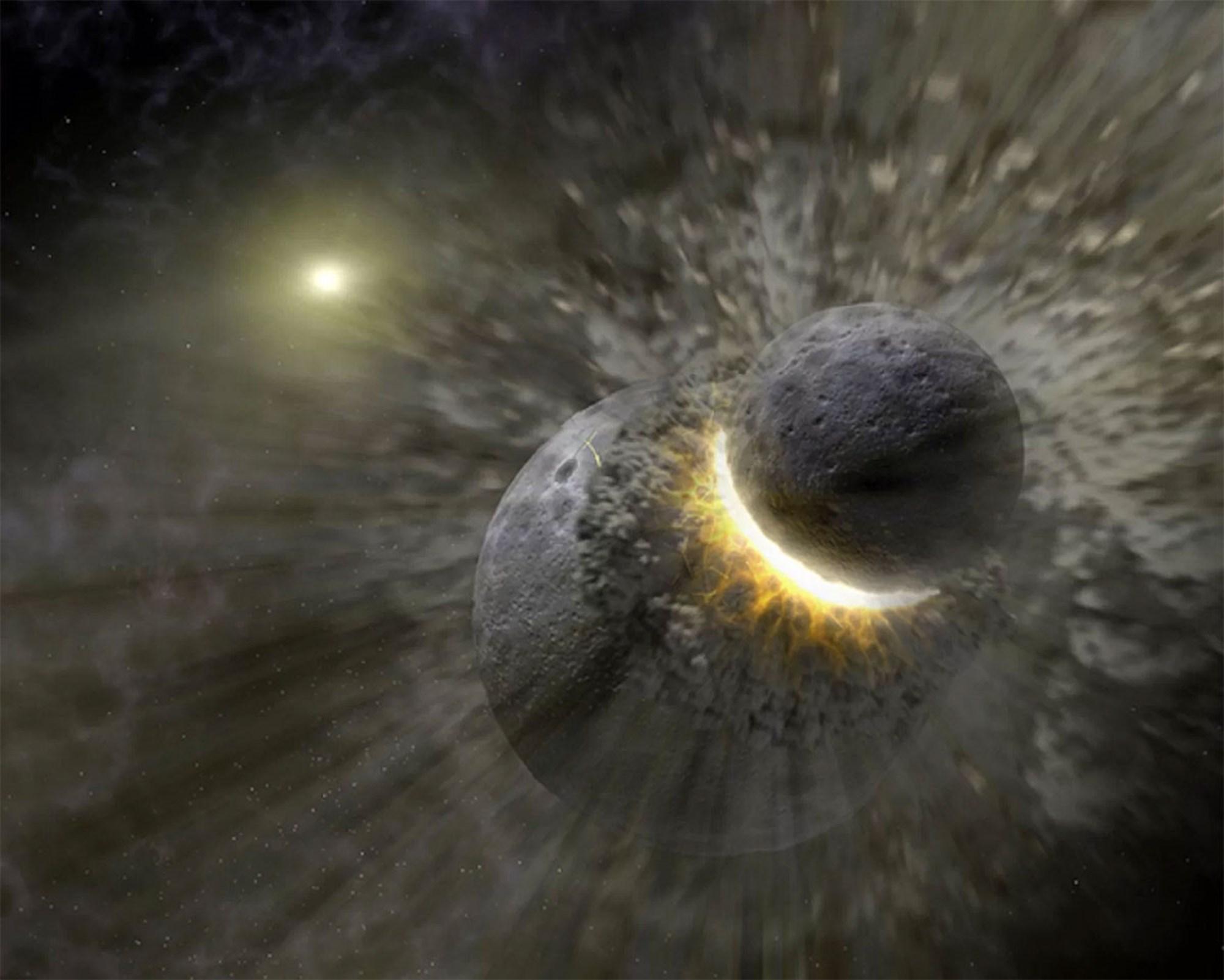 Als der Mond entstand, kam auch das Wasser auf die Erde – derStandard.at