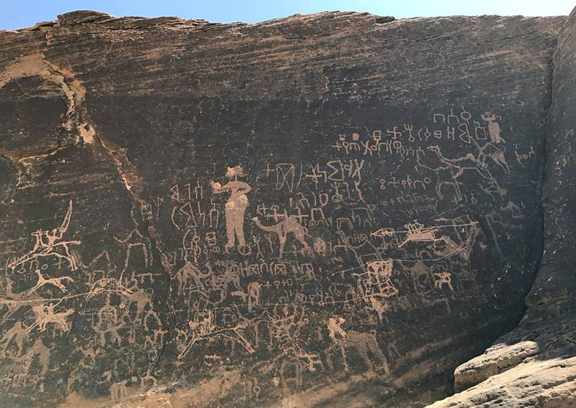 Geheimnisvolle Felsbilder lassen sich mit neuer Methode datieren – derStandard.at