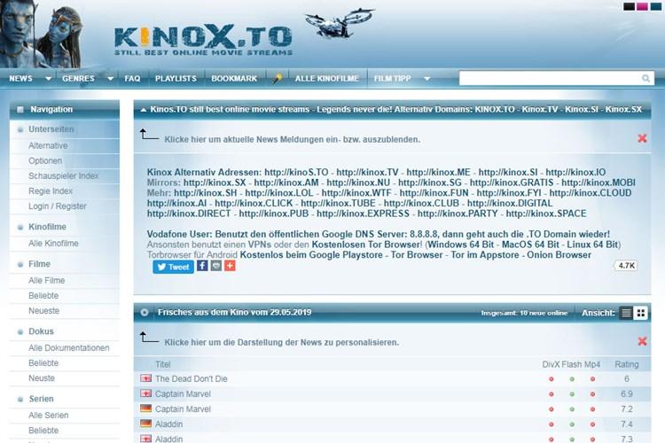 Kinox.To Werbung