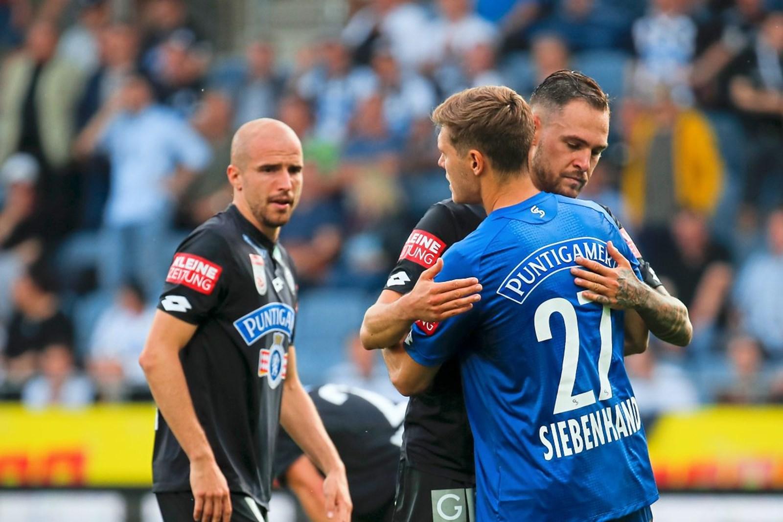 Trotz Pleite gegen Rapid: Sturm sichert sich letztes Europacup-Ticket