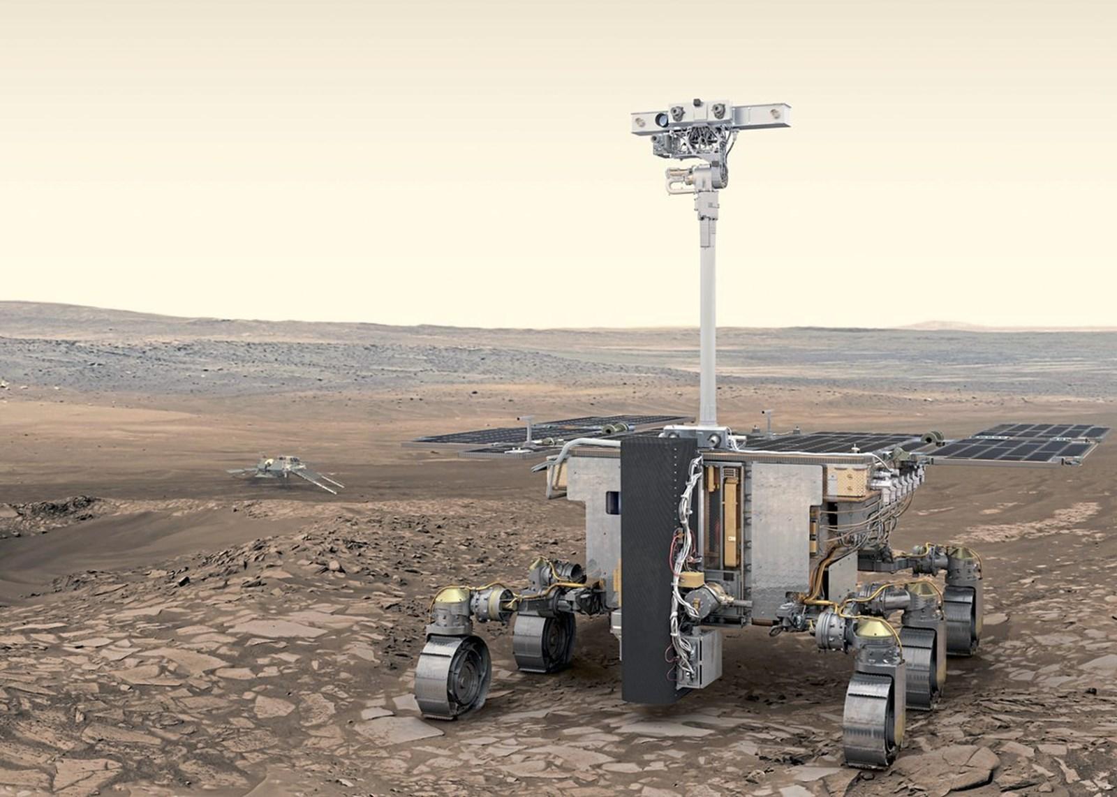Europas nächster Landeversuch auf dem Mars