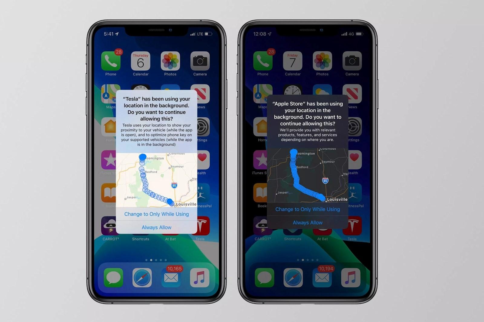 iOS 13 verrät, wo Apps die Nutzer getrackt haben