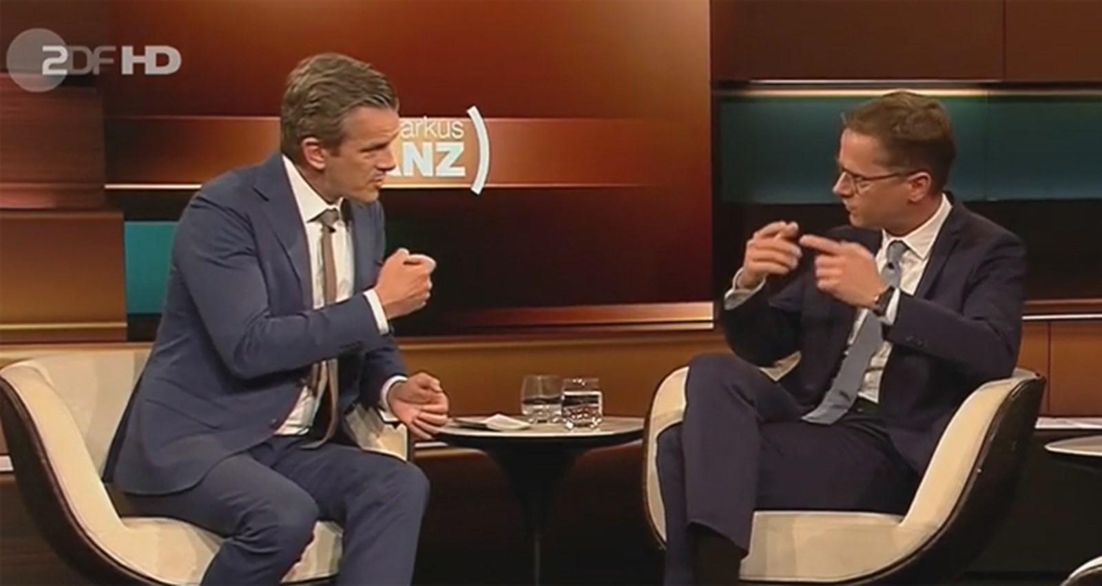 Ja, nein und das Gegenteil davon: Entlarvung von Politsprech bei Markus Lanz im ZDF