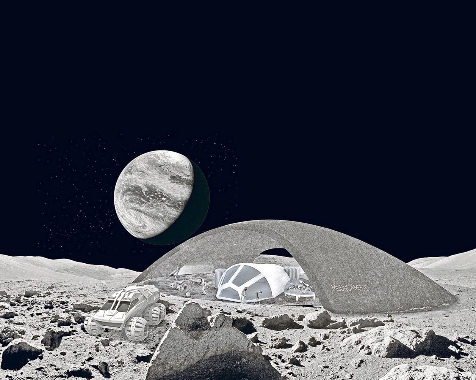 Weltraumarchitektur: Moon Villages und Nahrungsmittelanbau