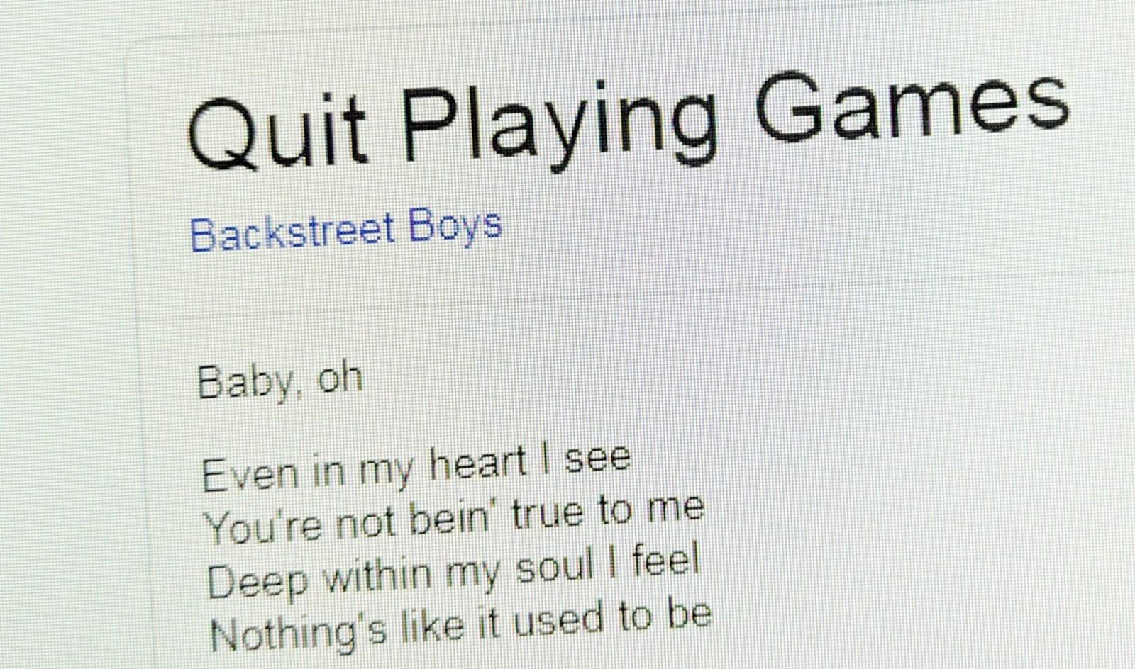 Google soll Lyrics von Songtext-Seite geklaut haben