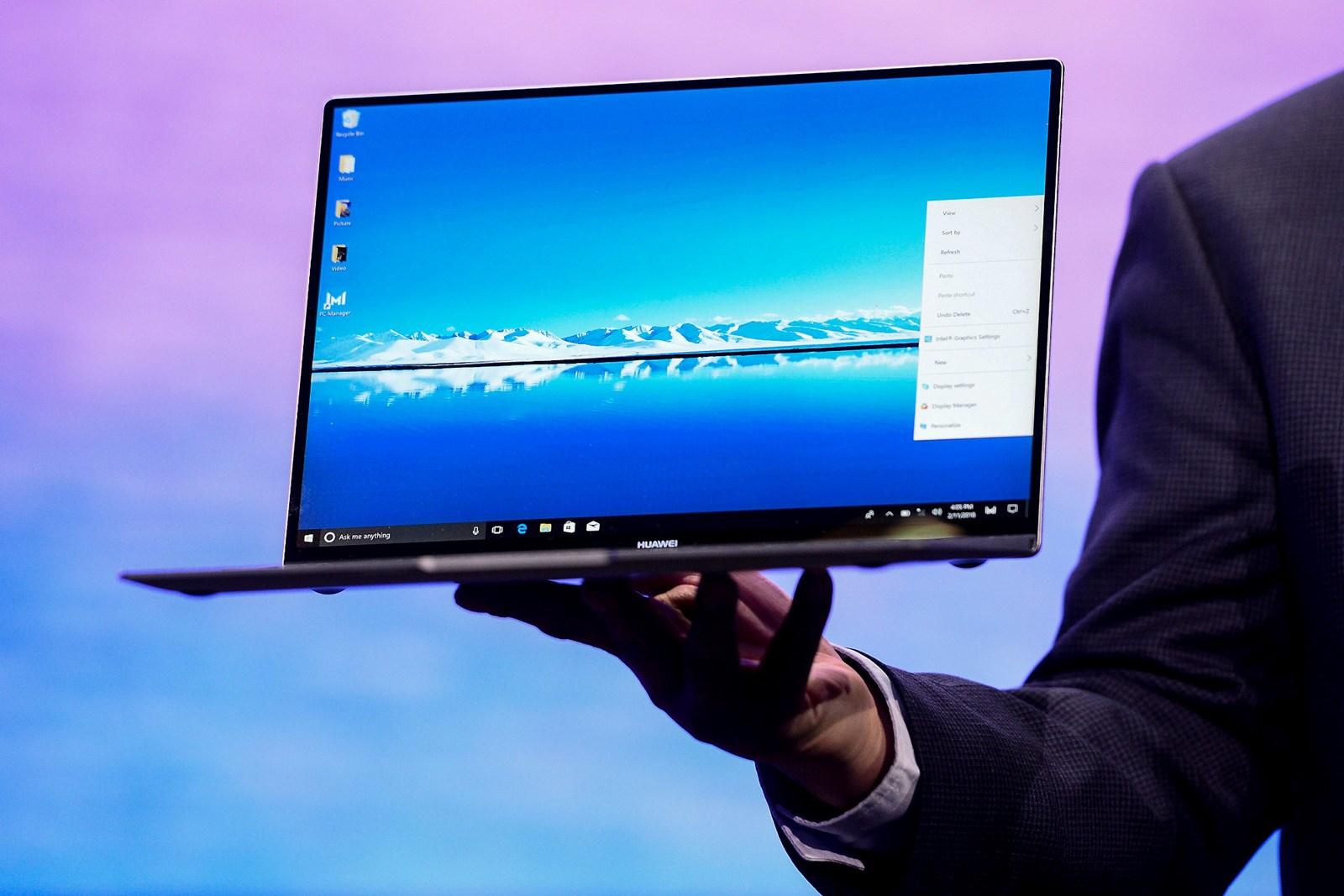 Intel und Microsoft wollen weiter Updates für Huawei-Laptops bieten