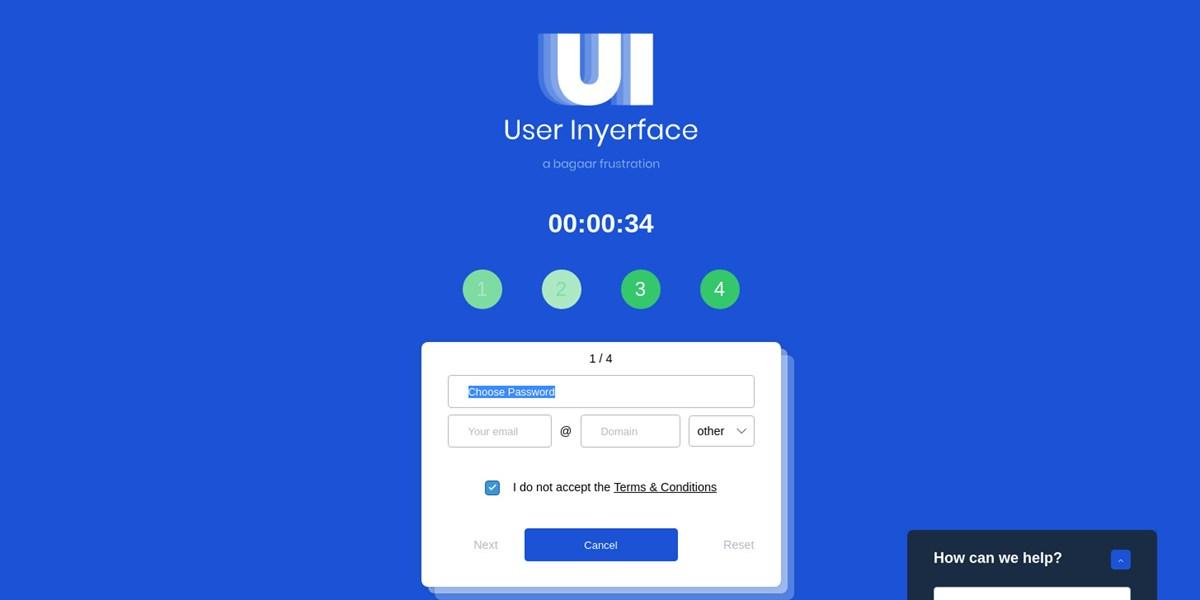 """""""User Inyerface"""" frustriert Nutzer mit den schlimmsten Webdesign-Sünden"""