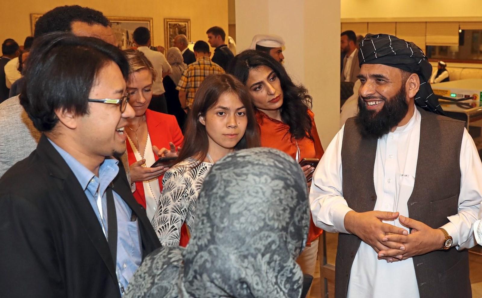 Abschlussdokument der Taliban-Verhandlungen mit Sprachvarianten
