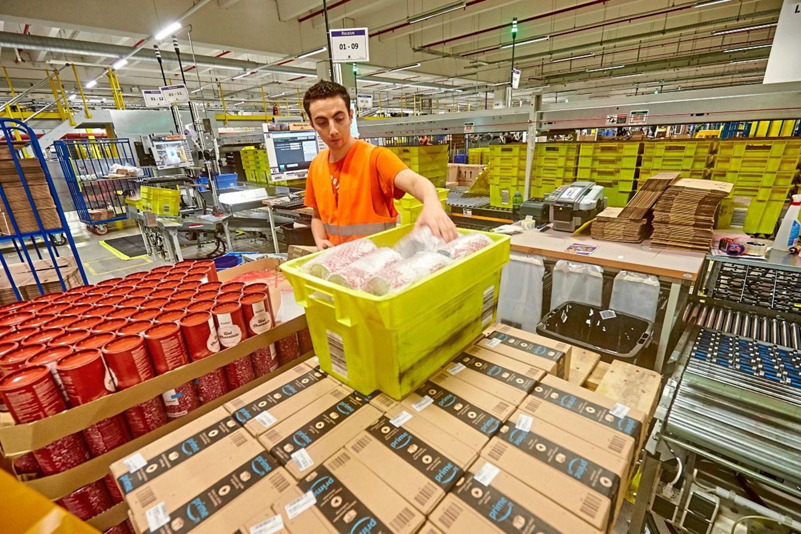 In Deutschland streiken die Amazon-Mitarbeiter am Schnäppchentag
