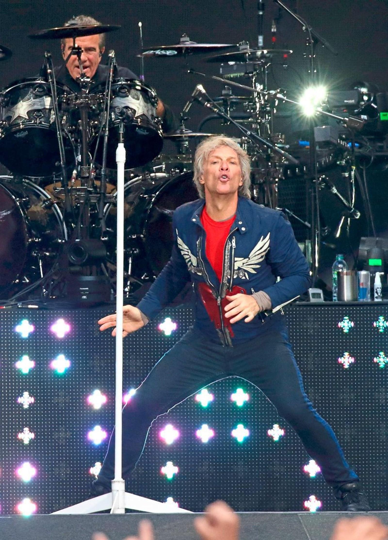 Bon Jovi in Wien: Knödeln, jaulen, mitpaschen