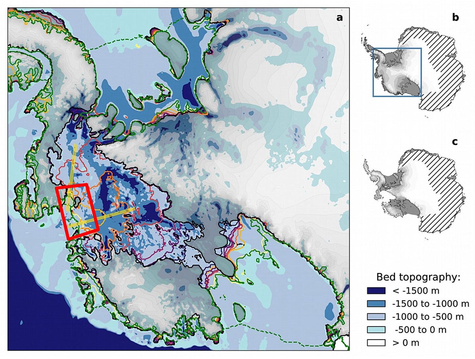 Gigantische Beschneiung würde Eiskollaps in der Westanarktis verhindern