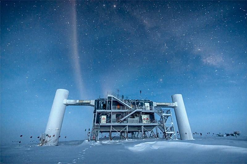 Projekt Icecube: Jagd nach Neutrinos auf dem Südpol wird verfeinert