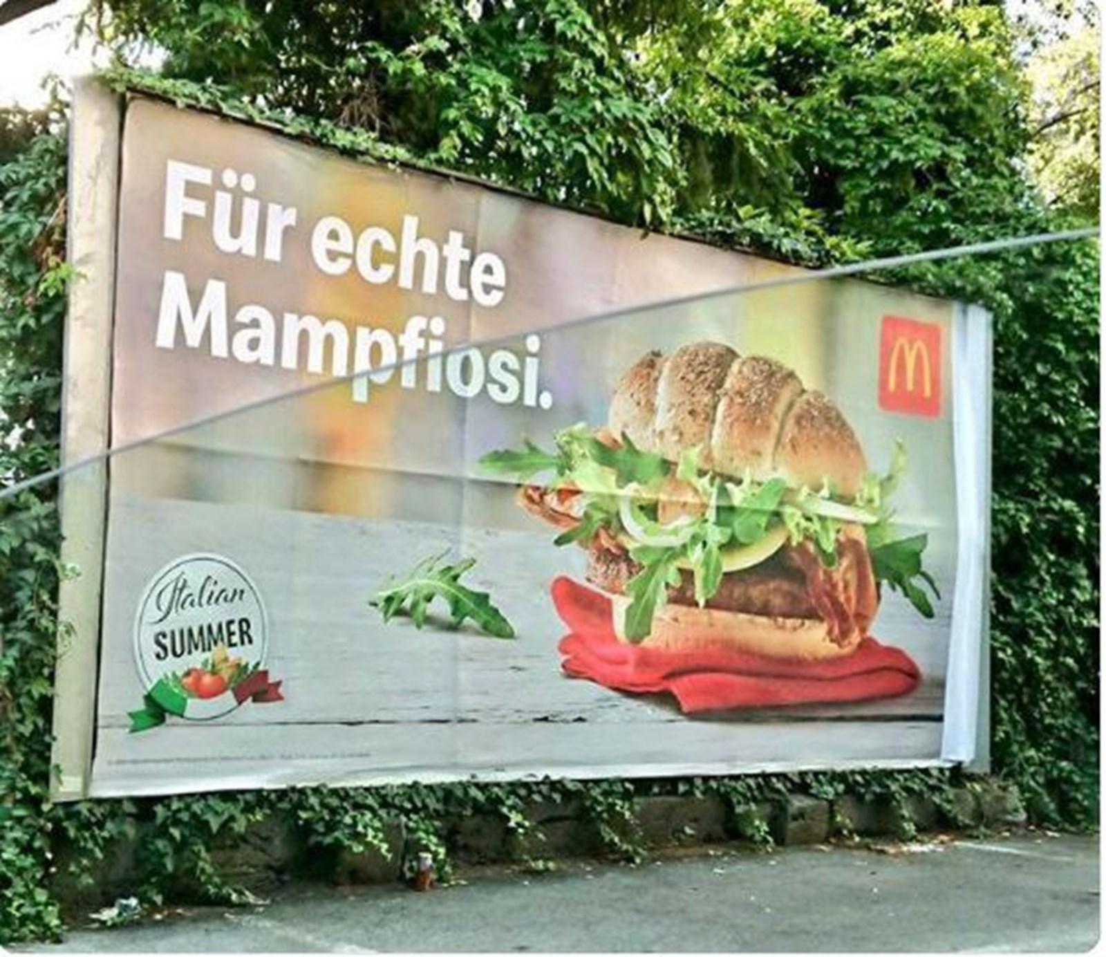 Salvini protestierte gegen Österreich-Werbung von McDonald's