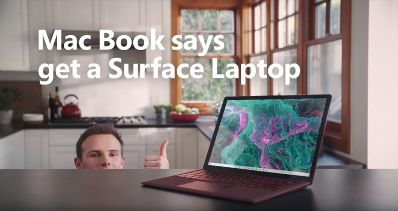 """""""Mackenzie Book"""": Neue Microsoft-Werbung zieht über Apple her"""