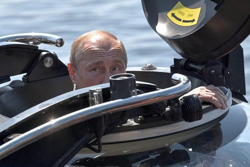 Russlands Marine übt in der Ostsee
