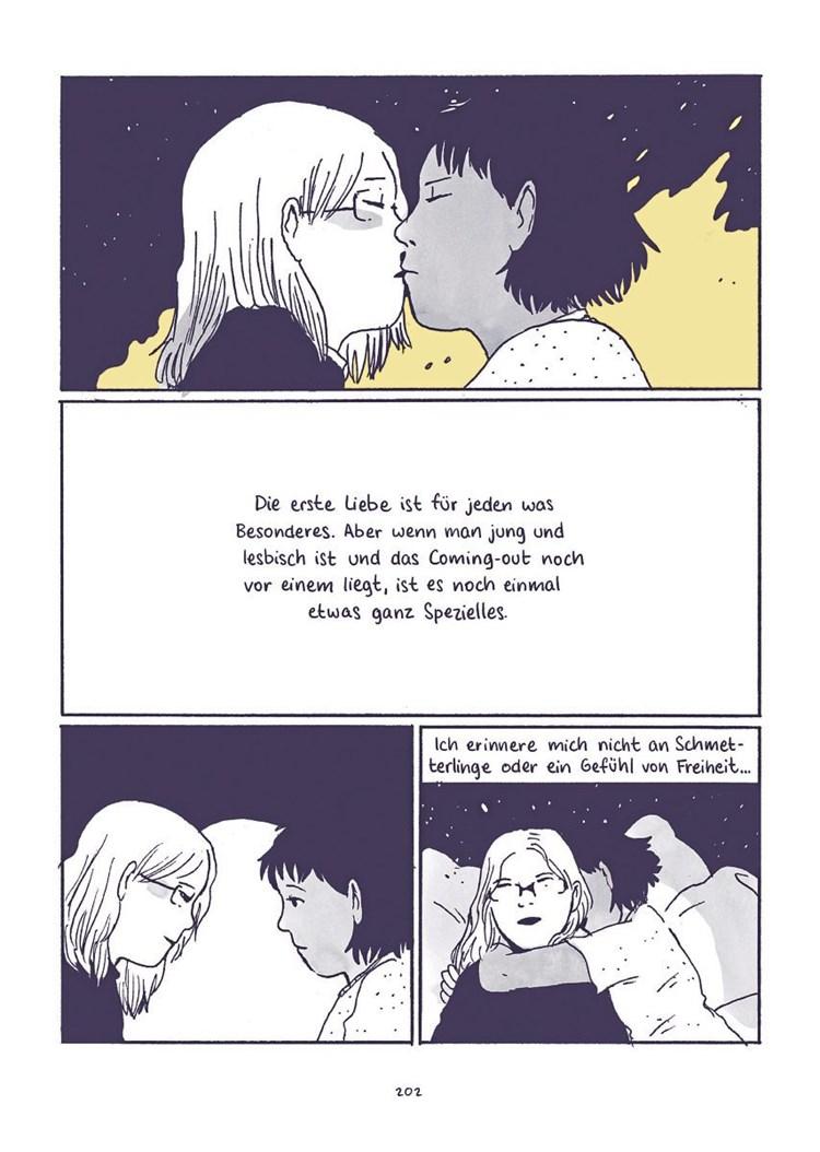 Erfahrung lesbische Teens erste Ich war